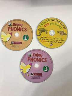 Children phonics and coloring activity