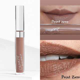 Colourpop Ultra Satin liquid lipstick - POINT ZERO