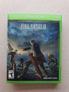 Final Fantasy XV (15) Xbox One Day One Edition
