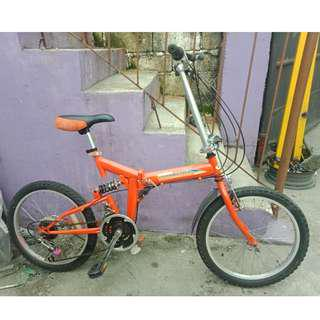 SPEED MASTER FOLDING BIKE (FREE DELIVERY AND NEGOTIABLE!)