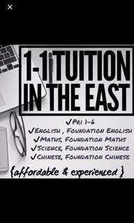 Looking for students to tutor in 1-1 tuition