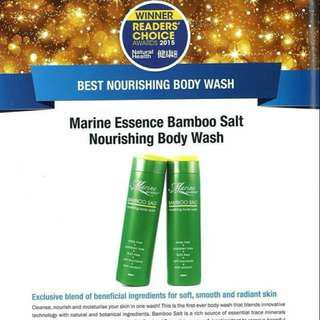 Marine essence bpdy wash