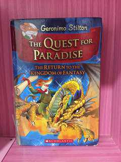 Geronimo Stilton: The Return To The Kingdom of Fantasy The Quest For Paradise