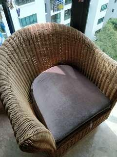 Rattan Armchair reserved