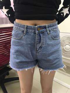 Blue denim shorts - brand new