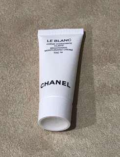 (NEW) Sample Chanel Le Blanc Brightening Mosturizing Cream