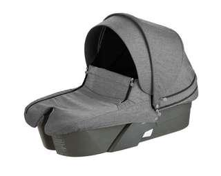 Stokke Carrycot in Black Melange (For Rent)