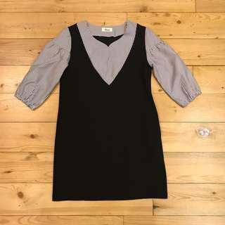 Formal dress with pocket