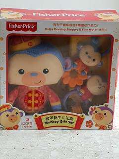 FisherPrice Monkey Toy Set