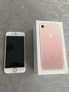 FS: Iphone 7 32gb rose gold with box