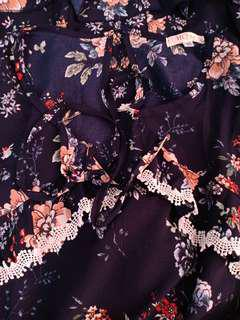 HQ80 Floral terno