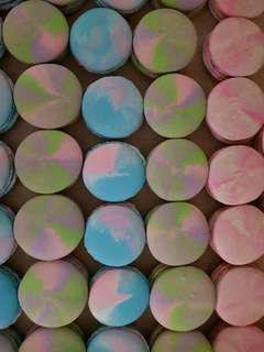 Marbled Macarons
