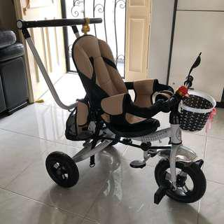 Toddler convertible Stroller + Tricycle