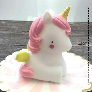 Baby Unicorn LED Night Light (Free batteries!)