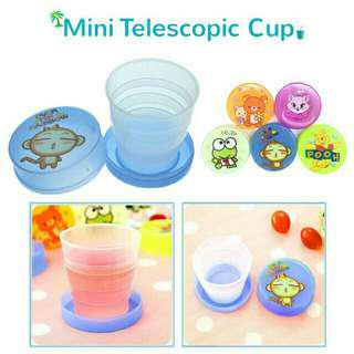 Telescopic Foldable travel cup