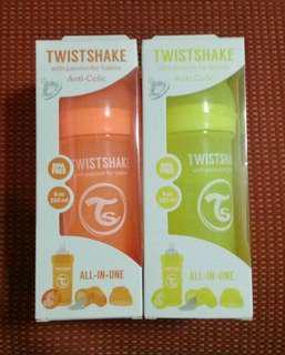 Bundle Take All SALE! 4pcs Twistshake Anti-colic Baby Bottles