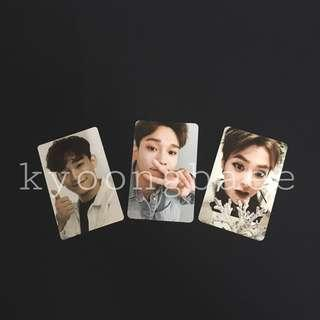 [WTS/READY STOCK] EXO CHEN & XIUMIN OFFICIAL PHOTOCARD