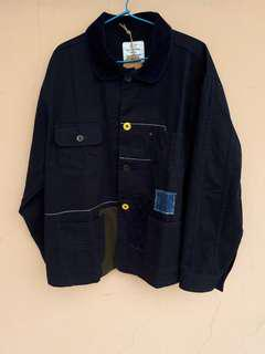 """Blue Chamber """"Twill Coverall Patchwork"""" BNWT!"""