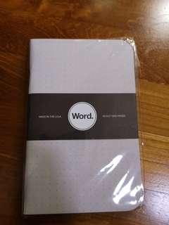 WORD. DOT GRID  BY WORD. NOTEBOOKS