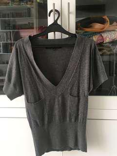 French Connection Grey Top