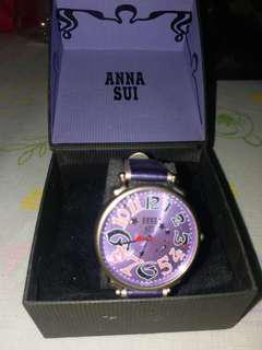 Anna sui手錶《自行出價》