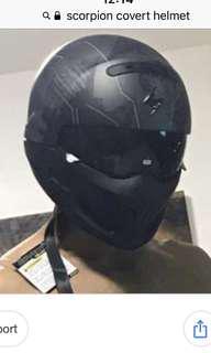 Scorpion covert Helmet