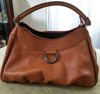 GUCCI Handbag (Abbey D Ring Leather Hobo)