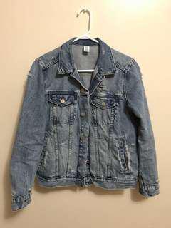 H&M Conscious Women Denim Jacket (Denim Blue)