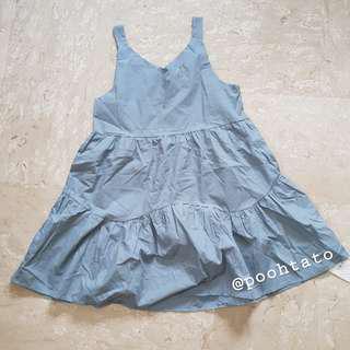 BNWT Seafoam Blue Babydoll Dress