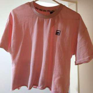 Fila Pink Crop