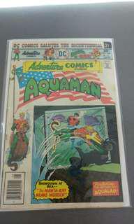 Adventure Comics DC bronze age comics