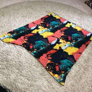 Sahara shawl Abstract Snood