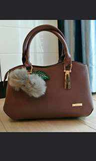 Handbag Purple high quality 可愛輕便手提袋 女裝 包包 手提及配肩帶2種 hothot