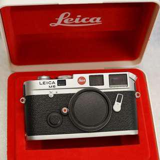 Leica M6 Classic Film Rangefinder