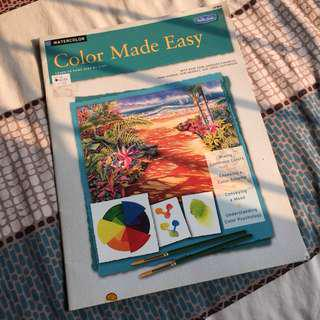 Color Made Easy - Buku Watercolor