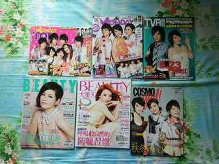 SHE雜誌(play,fans,color,moday...)