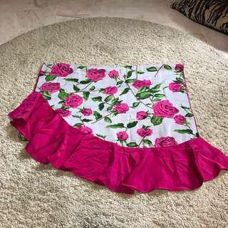 Sahara shawl floral pink flutter