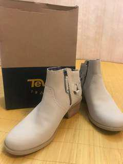 Teva W FOXY-W Womens Foxy leather Ankle Boot ( taupe)
