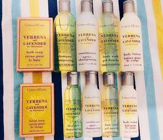 Crabtree & Evelyn 洗頭水/沖涼液/護髮素/潤膚乳液/潔面皂/沖涼皂