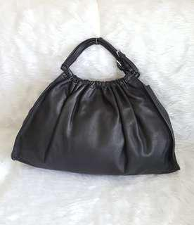 Repriced! Auth Gucci Leather Handbag LV tory