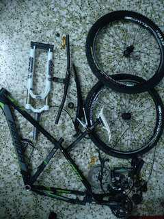 bicycle servicing/tuning cleaning