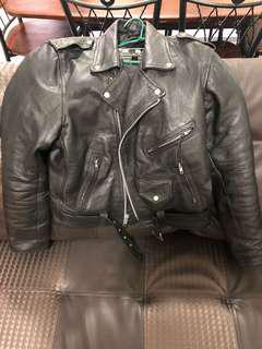 Leather Jacket ori zara