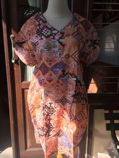 Dress bigsize Motif batik