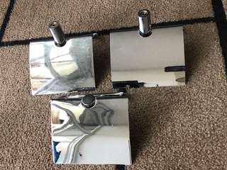 Toilet Roll Holder (Chromoly) set of 3 pcs