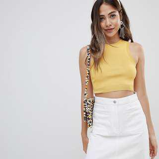 🚚 Missguided Knitted Crop Top