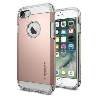 🚚 ⭐SEPT SALE⭐ Spigen [Tough Armor] iPhone 7/8 [Rose Gold]