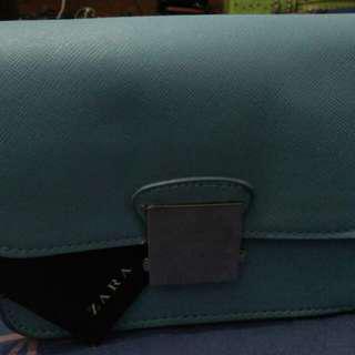 Zara Crossbody Bag Floral Strap