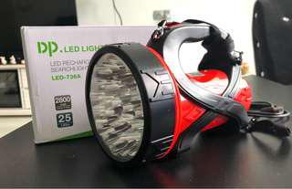 DP LED Searchlight rechargeable