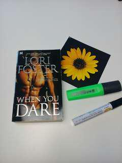REPRICED: When You Dare by Lori Foster