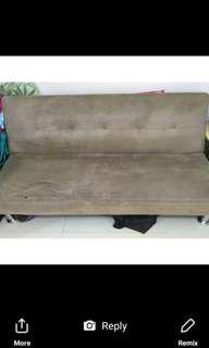 Four seater sofa bed
